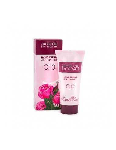 """Biofresh hand cream with Q10 and rose oil """"Rose Regina"""" 50ml / Биофреш крем за ръце с Q10 и розово масло """"рози Реджина"""" 50мл"""