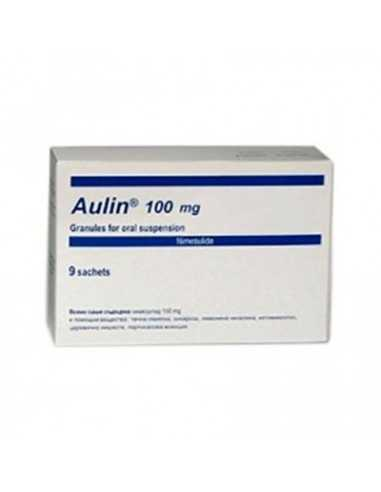 Aulin 100 mg 9 sach / Аулин 100 мг. 9 сашета