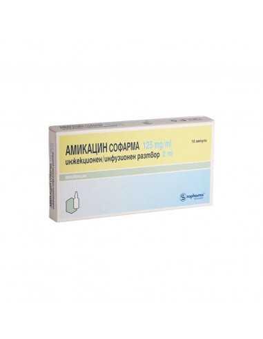 Amikacin 125 mg/ml solution for...